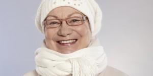 Senior Woman at Winter