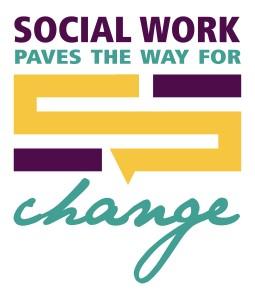Social Work Month Logo