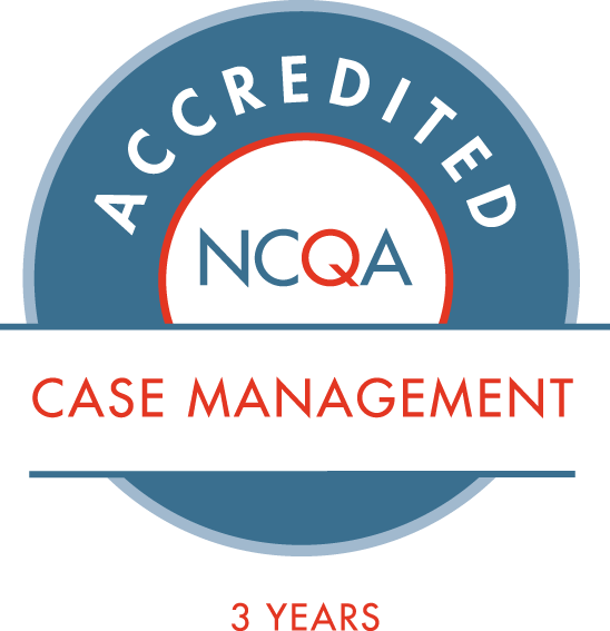 NCAQ - Accredited for Case Management for 3 Years Seal